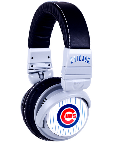 Chicago Cubs Custom Headphones