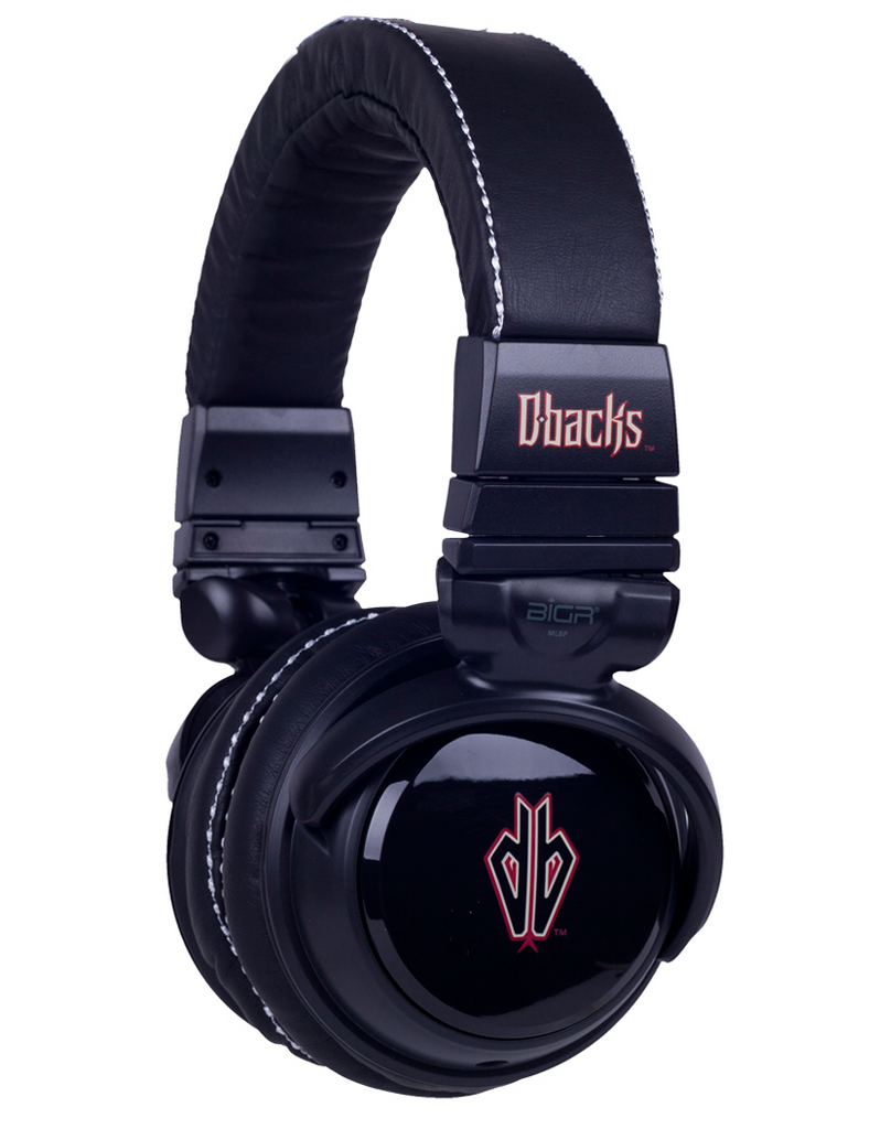 Arizona Diamondbacks Black Headphones