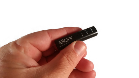 Get a BiGR Dongle (will change all your Headphones into Bluetooth headphones)