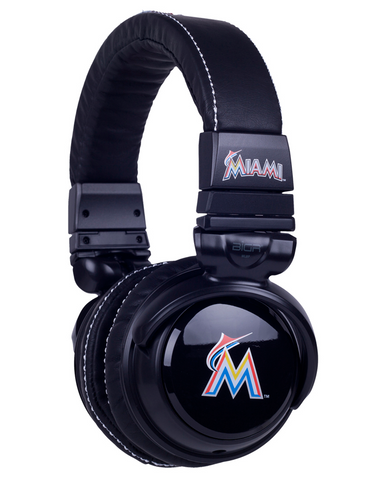 Miami Marlins Headphones