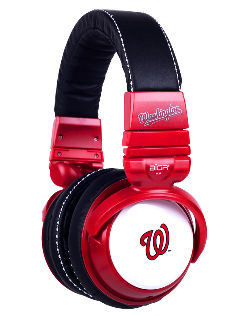 Washington Nationals Headphones