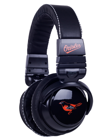 Baltimore Orioles Black Headphones
