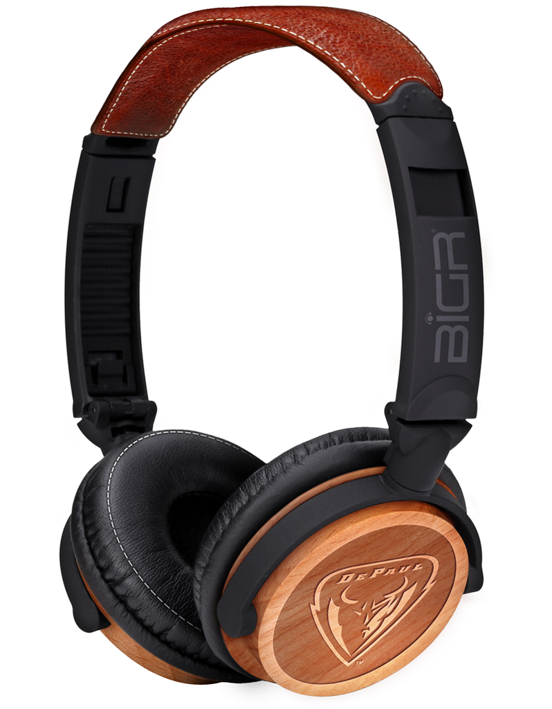 Depaul Blue Demons Headphones