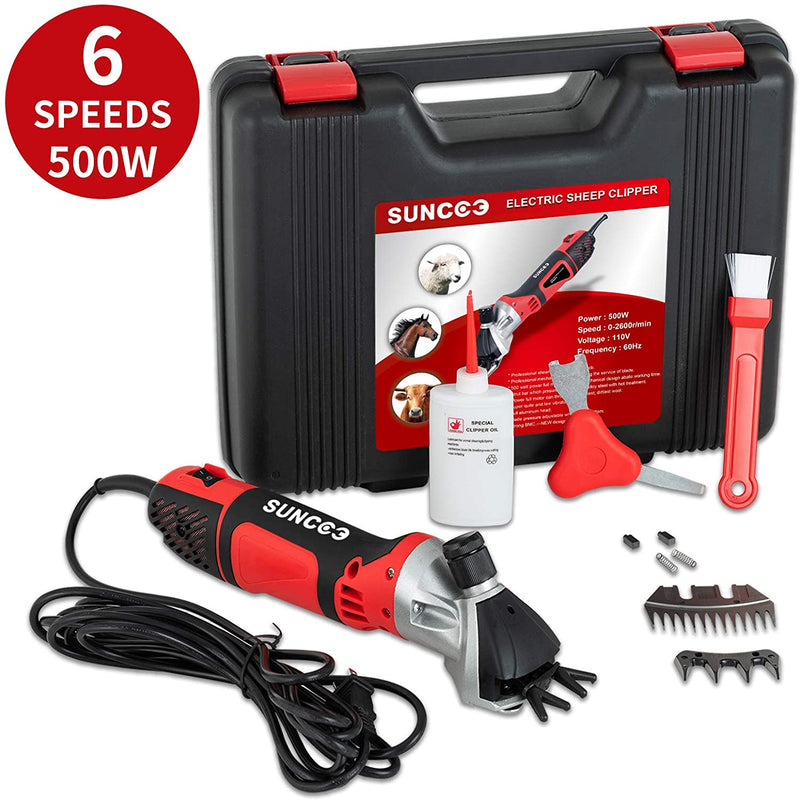 Sheep Shears, 6 Speeds Portable Electric Clippers, Professional Grooming Shearing Trimmer sale