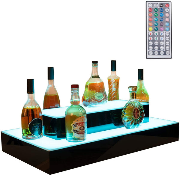 31 Inch LED Display Shelf,LED Liquor Bottle Display sale