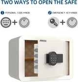 Nurxiovo Safe Box,  Security Safe with Safety Key Lock and Password sale