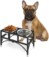 17''/22'' Pet Feeder Bowls for Dogs and Cats Nurxiovo sale