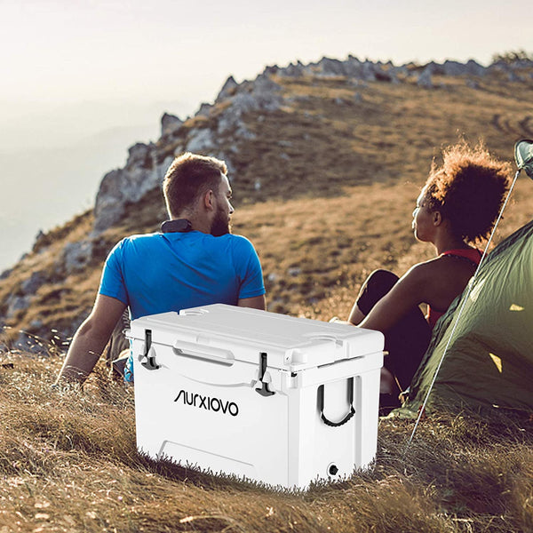Nurxiovo Cooler Portable Keeps Ice up to 7 Days sale