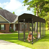 Nurxiovo Dog Pen Heavy Duty Dog Kennel Large Outdoor Pet Playpen sale