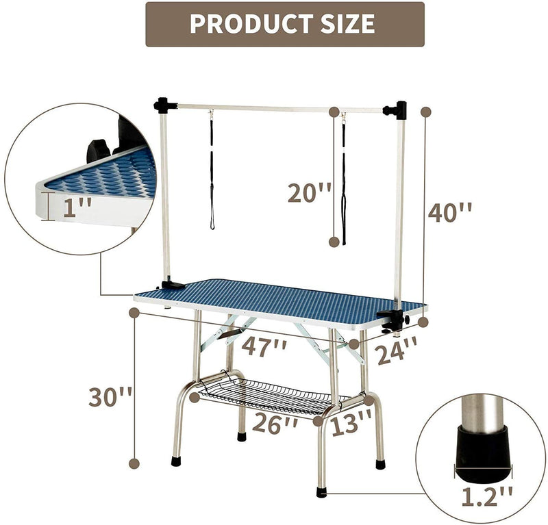 48 Inch Portable Pet Dog Grooming Table for Large Dogs sale
