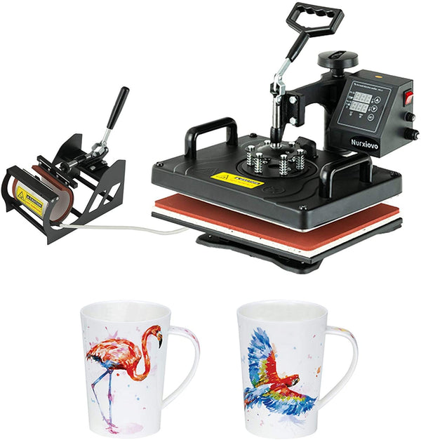 8 in 1 Heat Press Machine for T Shirts, Mug, Hat, Plate, Cap sale