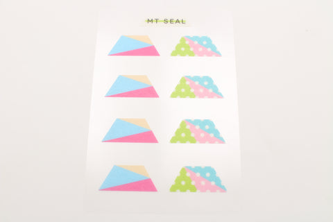 geometry trapezoid stickers
