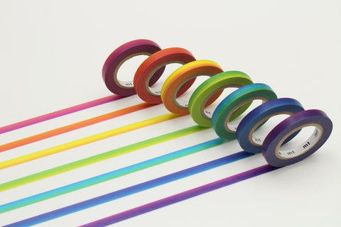 set of 7: rainbow