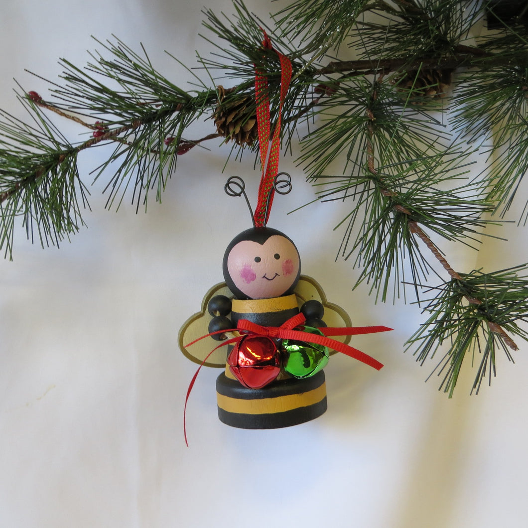 Bumble Bee Holiday Ornament