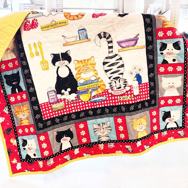 Play Quilt - Cats in the Kitchen