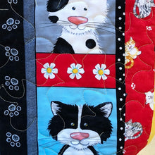 Load image into Gallery viewer, Play Quilt - Cats in the Kitchen