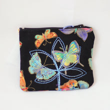 Load image into Gallery viewer, Zippered Fabric Coin Purse