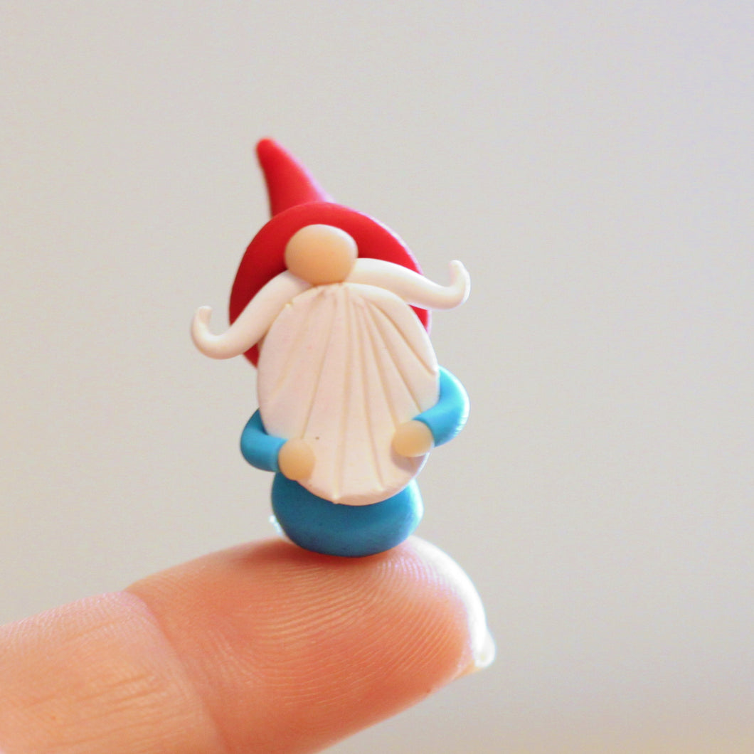 Itty Bitty Gnome with Red Hat
