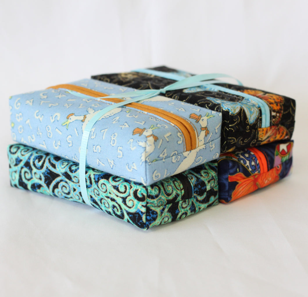 Travel Tissue Covers - Blues