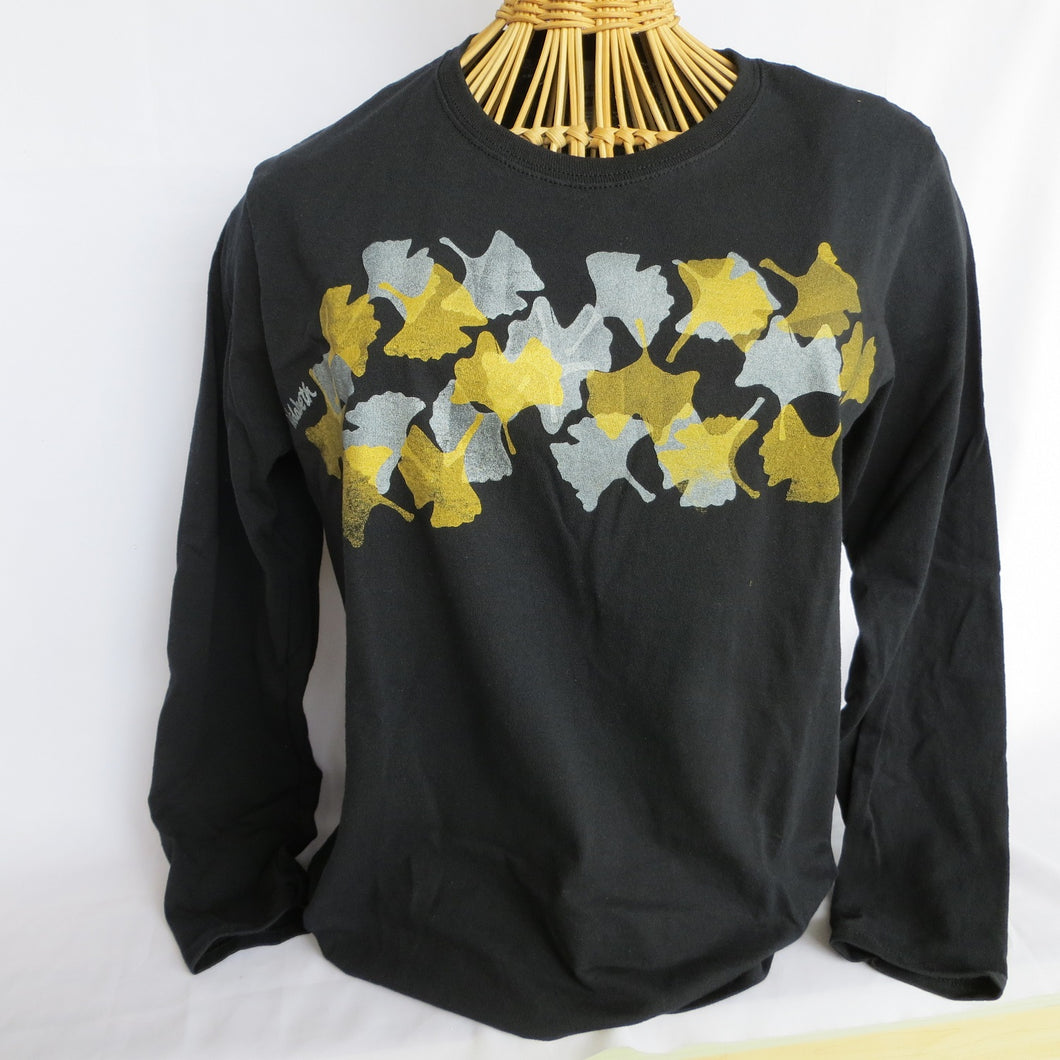 Gingko Leaves Long Sleeved T-Shirt