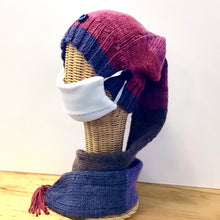 Load image into Gallery viewer, Acrylic Knit Scarf Hat