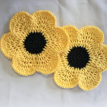 Load image into Gallery viewer, Crocheted Dishcloths - Set of 2 in 100% Cotton