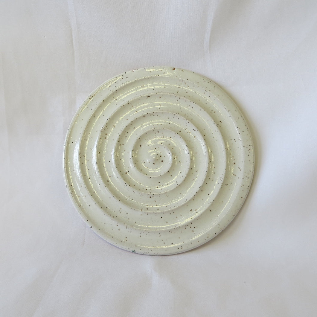 Ceramic Spoon Rest or Trivet