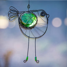 Load image into Gallery viewer, Beaded Wire Bird