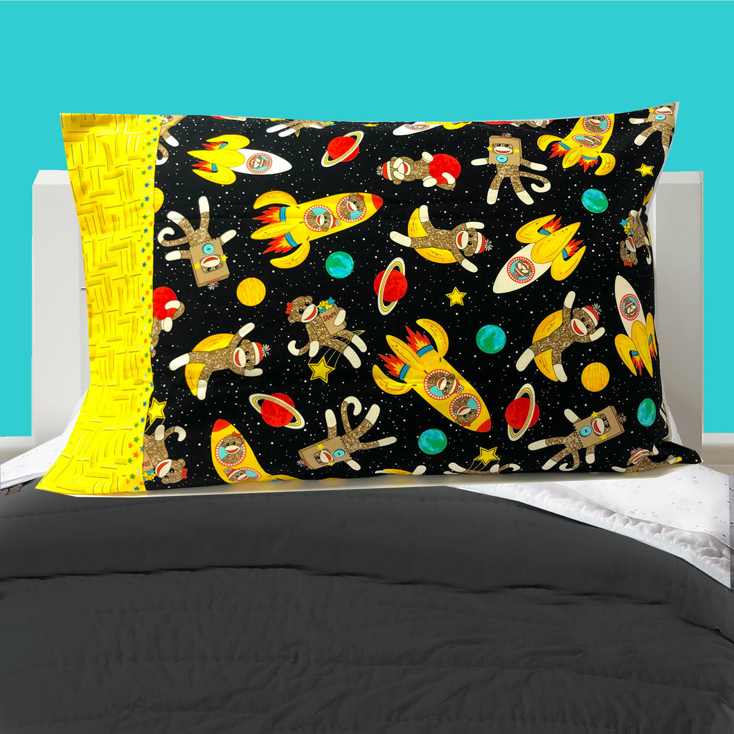 Child's Pillowcase - Outer Space