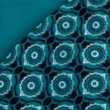 Load image into Gallery viewer, Eye Pillow in Teal and Black