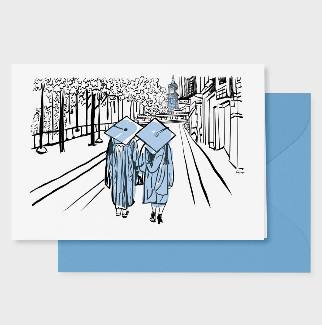 Graduation Walk Celebration Card
