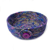 Load image into Gallery viewer, Coiled Bowl in Designer Fabric - Large