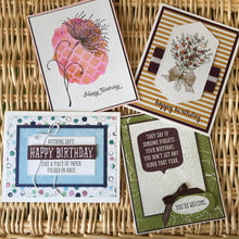 Load image into Gallery viewer, Birthday Cards - Boxed Set of 4