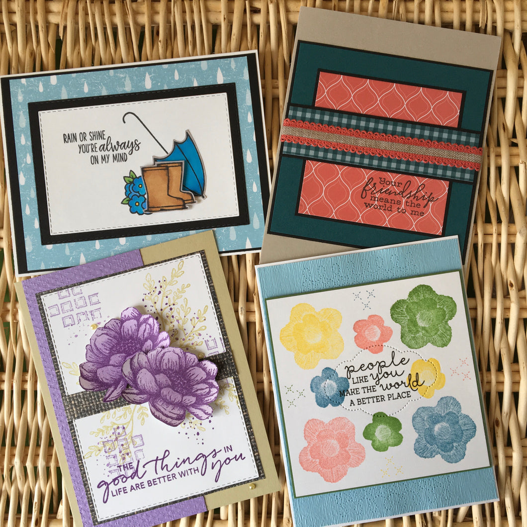 Thinking of You Cards - Boxed Set of 4