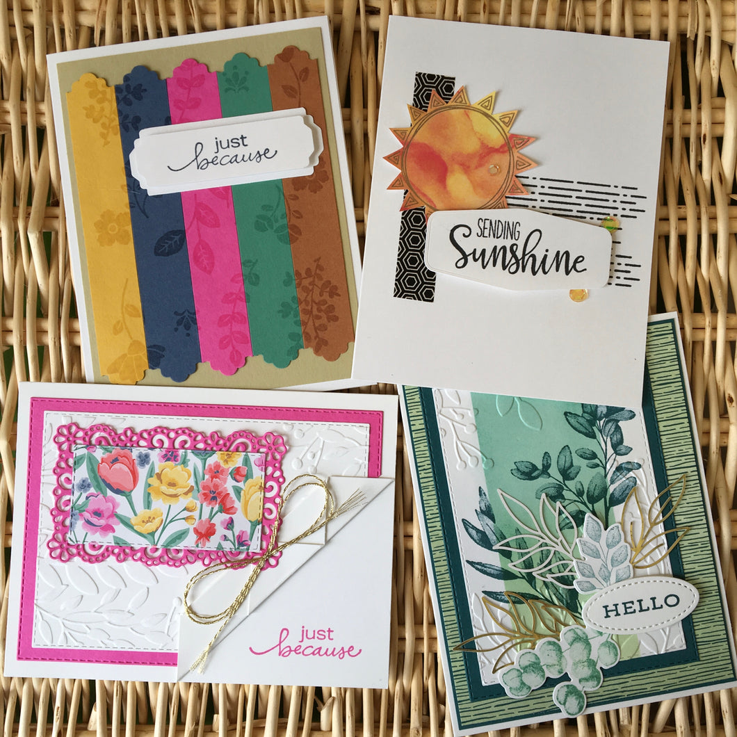 All Occasion Cards -  Boxed Set of 4