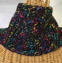 Load image into Gallery viewer, Large Double Multi-Colored Tunisian Crocheted Neck Warmer