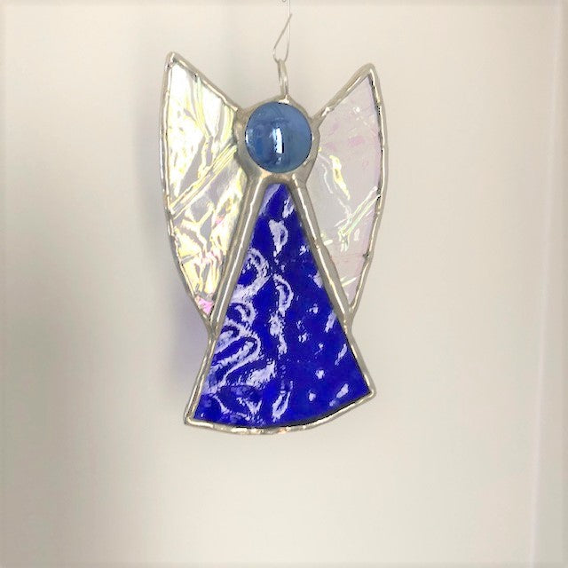 Stained Glass Mini Angel