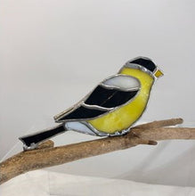 Load image into Gallery viewer, 3D Stained Glass Goldfinch