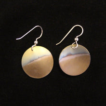 Load image into Gallery viewer, Dangling Disc Titanium Earrings