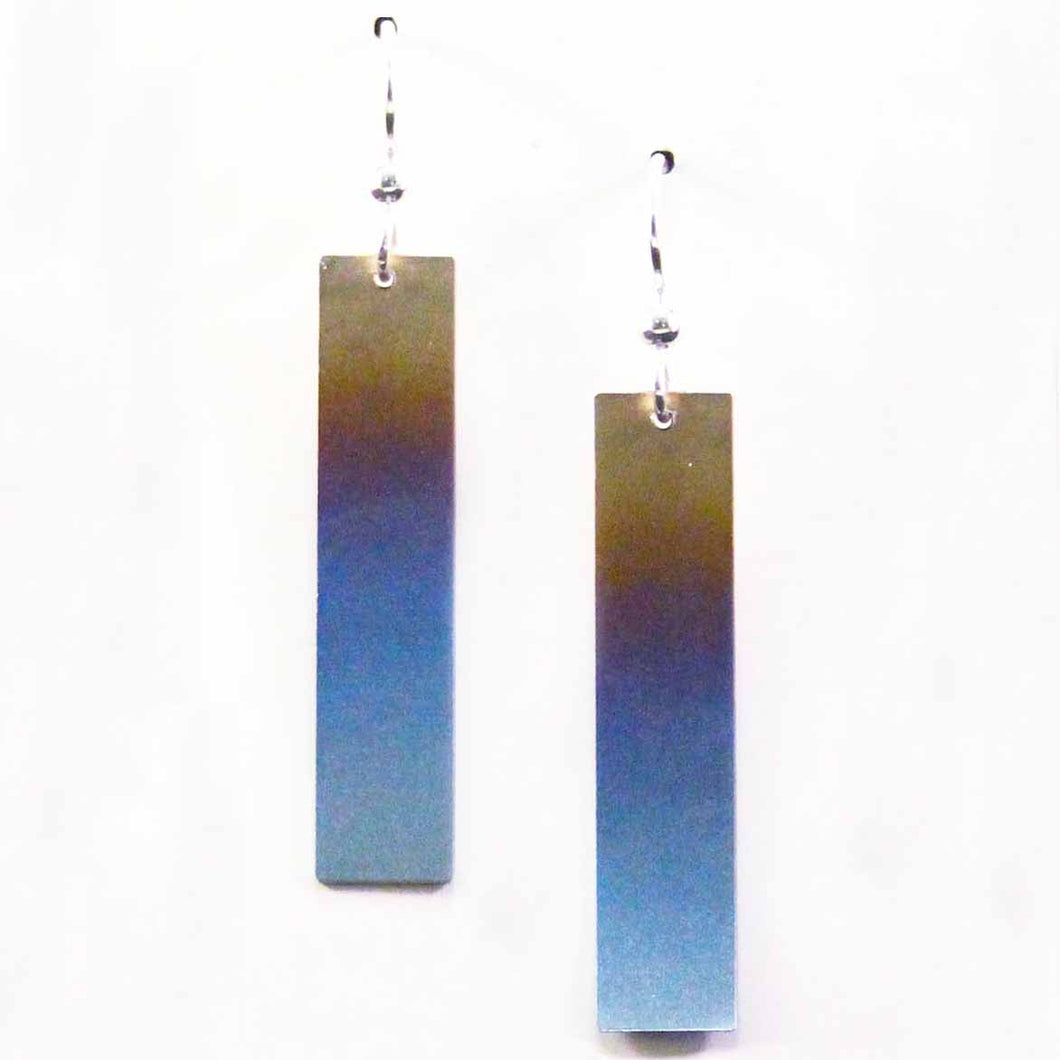 Titanium Long Drop Earrings