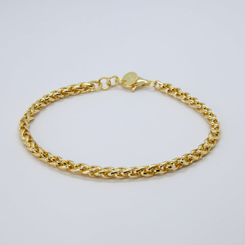 Classy minimal gold bracelet | Constellations London Jewellery
