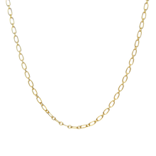 Load image into Gallery viewer, All Layered Up Layering Gold Chain Necklace with Oval Shaped Links