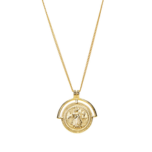 Load image into Gallery viewer, Medallion Coin Necklace