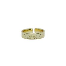 Load image into Gallery viewer, Havana Hammered Stackable Ring