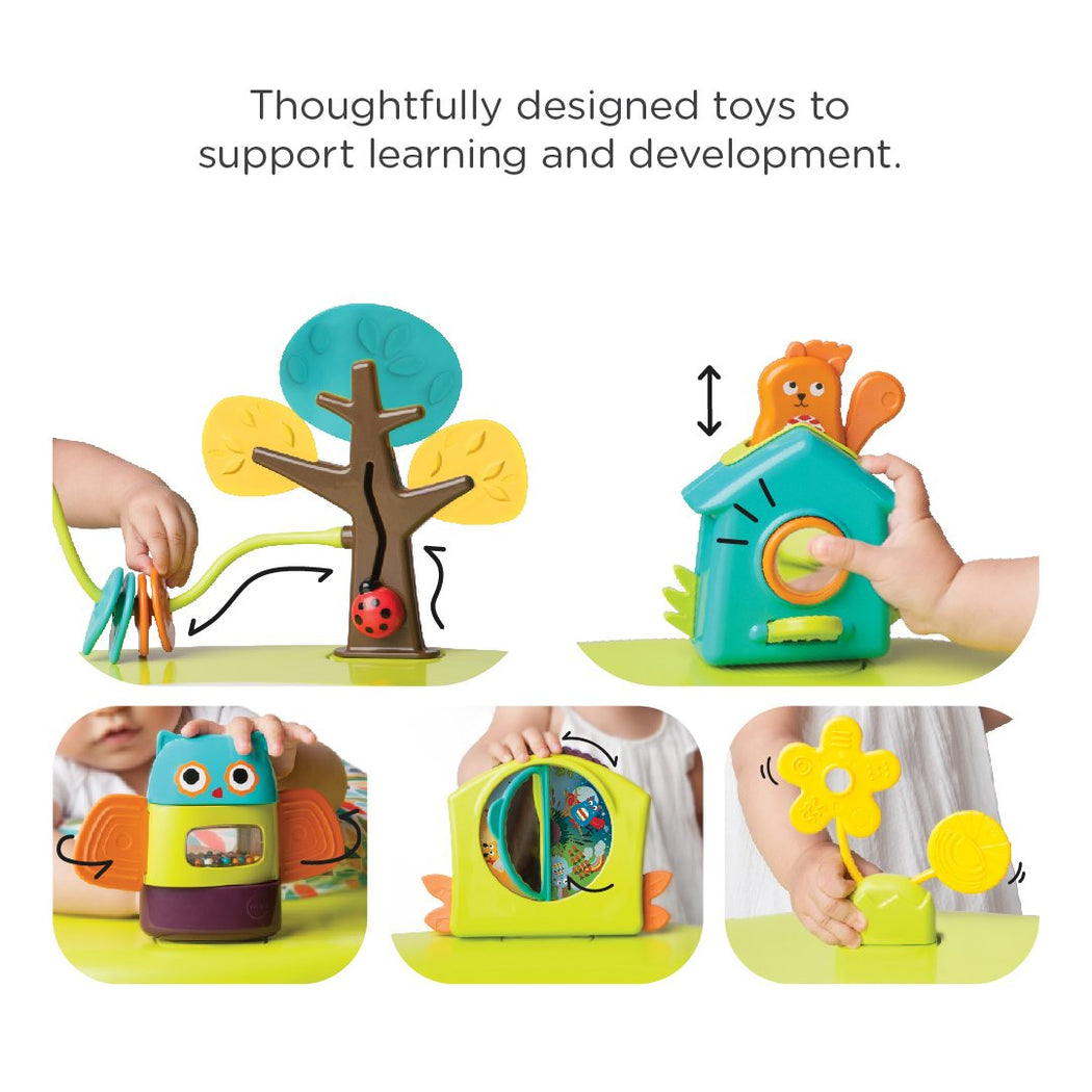 PortaPlay Convertible Activity Center - Forest Friends
