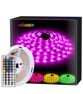 Waterproof 16 ft. Led Strip Lights with Remote Controller