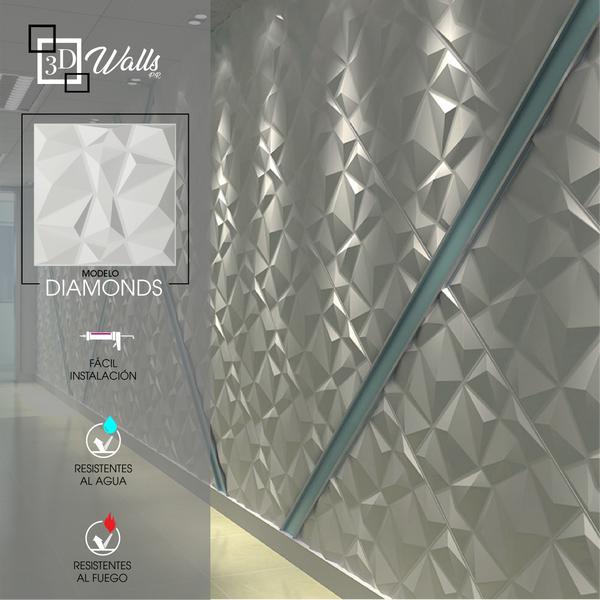 Modelo Diamonds 3D Walls PR