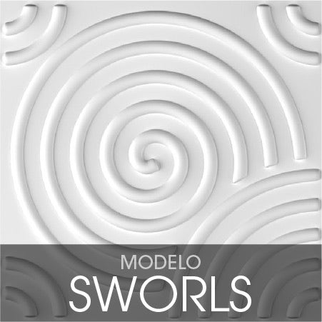 Modelo Sworls 3D Walls PR