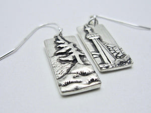 Earrings - Amanda Schoppel Art & Wax Carving