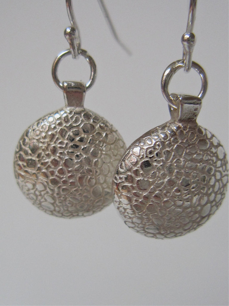 Silver 'You' Earrings - Amanda Schoppel Art & Wax Carving